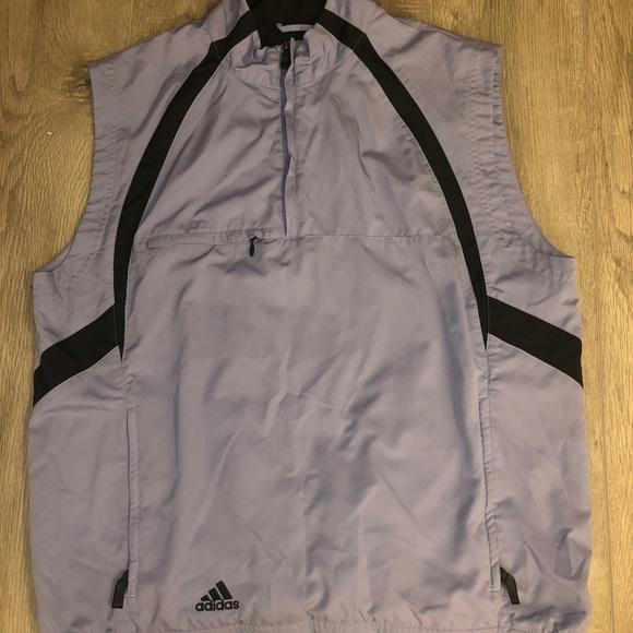 3f4d1dd5cfbd adidas Other - Adidas Half Zip Climaproof Wind Pullover Vest